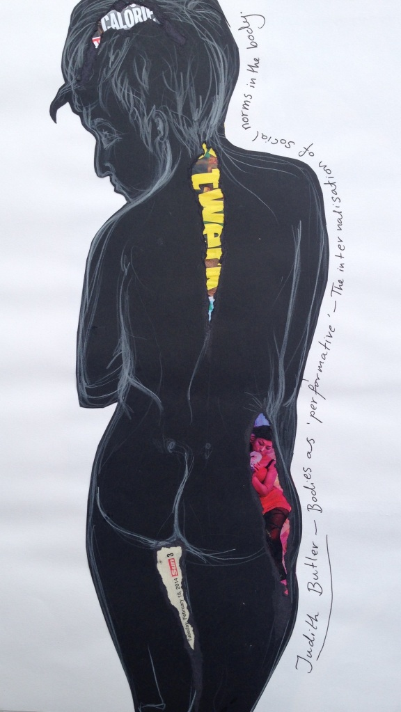 Judith Butler- Bodies as 'performative'- the internalization of social norms within the body.